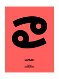 Cancer Zodiac Sign Black