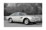 Aston Martin DB5 Watercolor