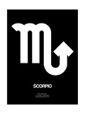 Scorpio Zodiac Sign White