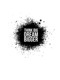 Dream Bigger White