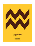 Aquarius Zodiac Sign Brown