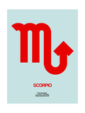 Scorpio Zodiac Sign Red