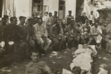 Group of Wounded Soldiers in a Military Hospital During the First World War