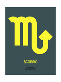 Scorpio Zodiac Sign Yellow