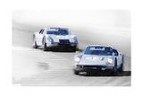 Porsche 904 Racing Watercolor