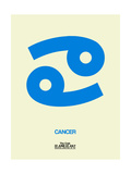 Cancer Zodiac Sign Blue