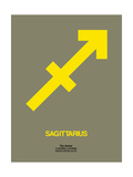 Sagittarius Zodiac Sign Yellow