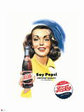 Pepsi - Say Pepsi Certified Quality 1951 Ad