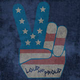 Peace Symbol - Loud and Proud