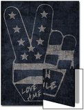 Peace Symbol - Love American Style