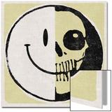 Half Happy  Haff Skull