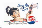 Pepsi - Always Hits the Spot 1950 Ad