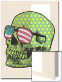 Polk-a-dot Skull in American Shades
