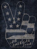 Peace Symbol - Love American Style