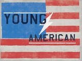 Young American - Lightning Bolt American Flag