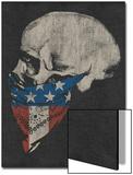 Skull and American Flag Bandana