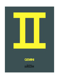 Gemini Zodiac Sign Yellow