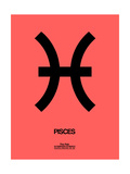 Pisces Zodiac Sign Black