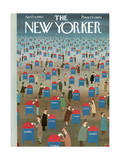 The New Yorker Cover - April 14  1962