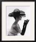 Madame Paulette Net Hat  c1963