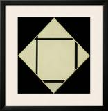 Tableau I - Lozenge with Four Lines and Gray  1926