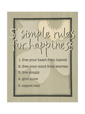 Five Simple Rules