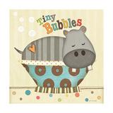 Tiny Bubbles Reproduction d'art par Jo Moulton