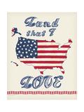 Flag Land I Love