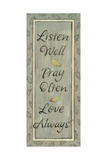 Listen Well  Pray Often