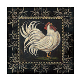 Black and White Rooster I