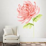 Martha Stewart Living Watercolor Chrysanthemum Transfer