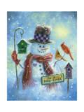 Bird Lover Snowman