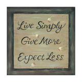 Live Simply - Give More
