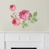 Martha Stewart Living Hand-Painted Roses Transfer