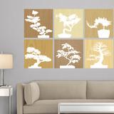 Martha Stewart Living Bonsai Tree Tiles