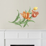 Martha Stewart Living Hand-Painted Tulips Transfer