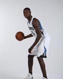 Minnesota Timberwolves 2013 NBA Draft Picks Shabazz Muhammad and Gorgui Dieng Portraits