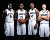 New Minnesota Timberwolves Player Portraits