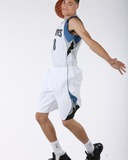 Zach Lavine and Glen Robinson III of the Minnesota Timberwolves Portraits