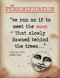 Personification (Quote from Going for Water by Robert Frost)