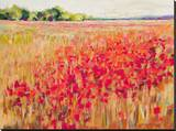 Poppies And Trees VIII