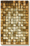 Wooden Refractions Dimensional Wood Art (ships Aug 10)