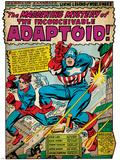 Marvel Comics Retro Style Guide: Captain America  Bucky