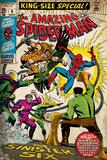 Marvel Comics Retro Style Guide: Spider-Man  Mysterio  Sandman