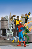 Ultimate Spider-Man Style Guide: Spider-Man  Power Man  Iron Fist