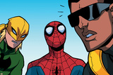 Ultimate Spider-Man Style Guide: Spider-Man  Iron Fist  Power Man