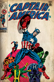 Marvel Comics Retro Style Guide: Captain America  Hydra  Bucky