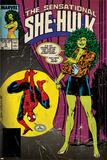 Marvel Comics Retro Style Guide: She-Hulk  Spider-Man
