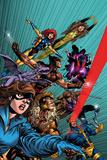 X-Men Forever No 1: Pryde  Kitty  Lockheed  Sabretooth  Cyclops  Gambit  Wolverine