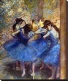 Degas: Blue Dancers  C1890